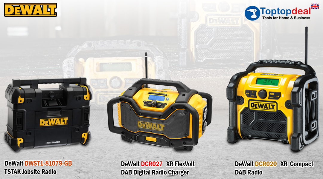 Which radio is the most suitable for your job? Toptopdeal topdeal