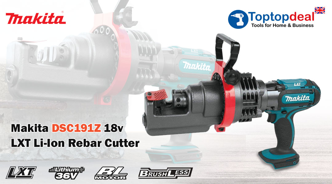 MAKITA INTRODUCES NEW REBAR CUTTER CORDLESS Toptopdeal topdeal