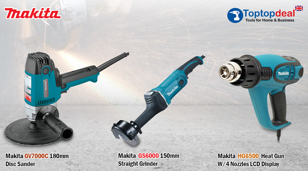 Introducing Toptopdeal.co.uk 's new Makita Power-Tools. Toptopdeal topdeal