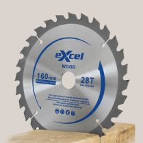 Toptopdeal-Excel 160mm x 20mm x 28T 2 2mm Plunge Saw Blade for Wood EX160X28T