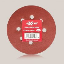 Toptopdeal Excel Excel Sanding Disc 125mm 240G Pack of 10