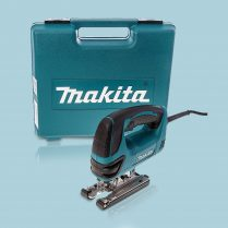 Toptopdeal-Makita 4350FCT Orbital Jigsaw Action Top Handle & Light In Carry Case 110V