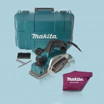 Toptopdeal-Makita KP0800K 3 82mm Heavy Duty Planer in Carry Case With Dust Bag 240V
