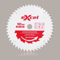 Toptopdeal uk Excel 162mm x 20mm x 48T Plung Saw Blade for Mafell Plunge Saws EXP162DX48T