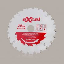 Toptopdeal uk Excel 216mm X 30mm X 24T Pro Series Mitre Saw Blades For Wood EX216X24T
