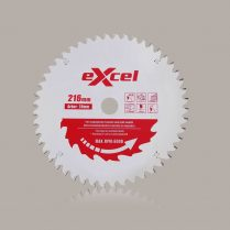 Toptopdeal uk Excel 216mm X 30mm X 48T Pro Series Mitre Saw Blades For Wood EX216X48T