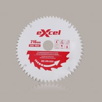 Toptopdeal uk Excel 216mm X 30mm X 60T Pro Series Mitre Saw Blades For Wood EX216X60T