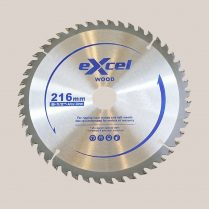 Toptopdeal uk Excel 216mm x 30mm x 24T TCT Circular Saw Blades for Wood EX216X24TSB