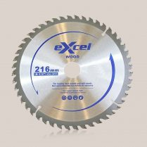 Toptopdeal uk Excel 216mm x 30mm x 48T TCT Circular Saw Blades for Wood EX216X48TSB