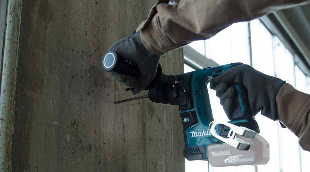 How to use the Depth Stop of a Rotary Hammer Drill?