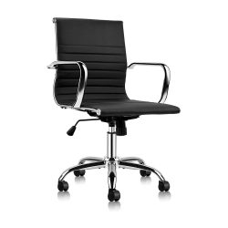 Toptopdeal Mastery Mart Mid Office Chair Soft Upholstery Chair