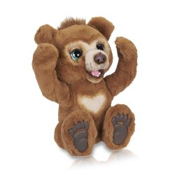 Toptopdeal-Fur-Real-Friends-Cubby-The-Curious-Bear-Interactive-Plush-Toy,-Ages-4-and-Up