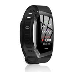 Toptopdeal LXZ Smart Bracelet E18 Color Touch Screen IP67 Waterproof Blood Pressure Oxygen Heart Rate Monitor Smart Watches Dropshipping