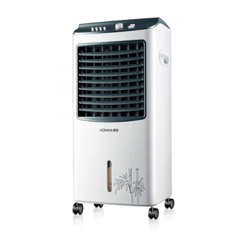 Toptopdeal SJBDGGJ Compact portable air cooler,Humidify cooler fan for summer Personal evaporative air cooler with remote control-A