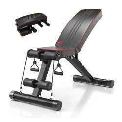 Toptopdeal-YOLEO-Adjustable-Weight-Bench-Home-Training-Gym-Weight-Lifting-Sit-Up-Ab-Bench-Flat-Incline-Decline-Multiuse-Exercise-Workout-Bench
