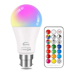 Toptopdeal-Colour-Changing-Bulb-B22-10W-Dimmable,-RGBW-LED-Light-Bulbs-Mood-Lighting-with-21key-Remote-Control,Dual-Memory-Function