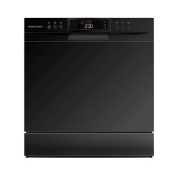 Toptopdeal-Cookology-8-Place-Setting-XL-Mini-Table-Top-Dishwasher-(Black)