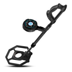 Toptopdeal-DR.ÖTEK-Easy-to-Operate-Metal-Detector-for-Kids,-Exclusive-DISC-Pinpoint-Mode,-Touch-Screen,-8-3-Inch-Waterproof-Coil