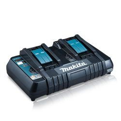 Toptopdeal-Makita-DC18RD-Dual-Port-Charger,-Black,-49-x-49-x-49-cm