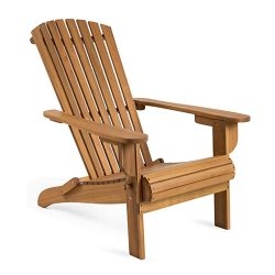 Toptopdeal-Plant-Theatre-Adirondack-Outdoor-Garden-Folding-Acacia-Hardwood-Chair-with-an-Oiled-Hand-Finish