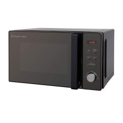 Toptopdeal-Russell-Hobbs-RHM2076B-20-Litre-800-W-Black-Digital-Solo-Microwave-with-5-Power-Levels,-Automatic-Defrost,-8-Auto-Cook-Menus,-Clock-&-Timer,-Easy-Clean