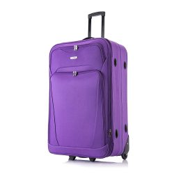 Toptopdeal-Flymax-26-Large-Suitcase-Lightweight-Luggage-Expandable-Hold-Check-in-Travel-Bag-on-Wheels
