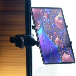 Toptopdeal-Octa-Lynx-3-in-1-Handle,-Stand,-and-Portable-Gooseneck-Mount-for-iPad,-Galaxy,-Surface-and-More