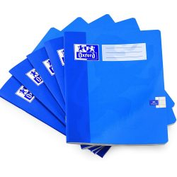 Toptopdeal-Oxford-A5-Exercise-Book---8mm-Lined---48-Pages---Blue-Cover---Pack-of-10
