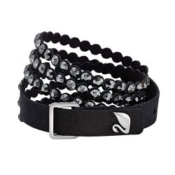 ToptopdealSwarovski-Women's-Power-Bracelet,-Brilliant-Crystals-with-a-Gorgeous-Fabric-Band,-from-the-Swarovski-Power-Collection