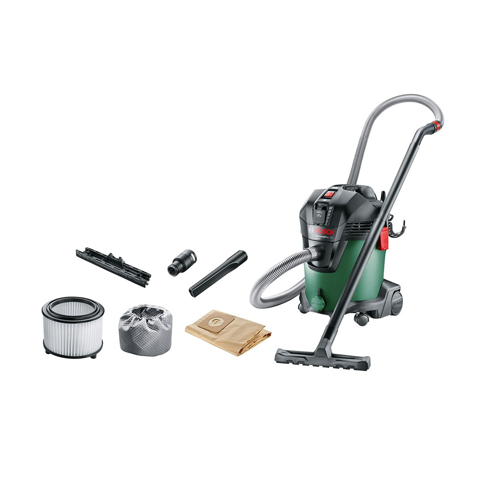 toptopdeal Bosch AdvancedVac 20 Wet and Dry Vacuum Cleaner with Blowing Function