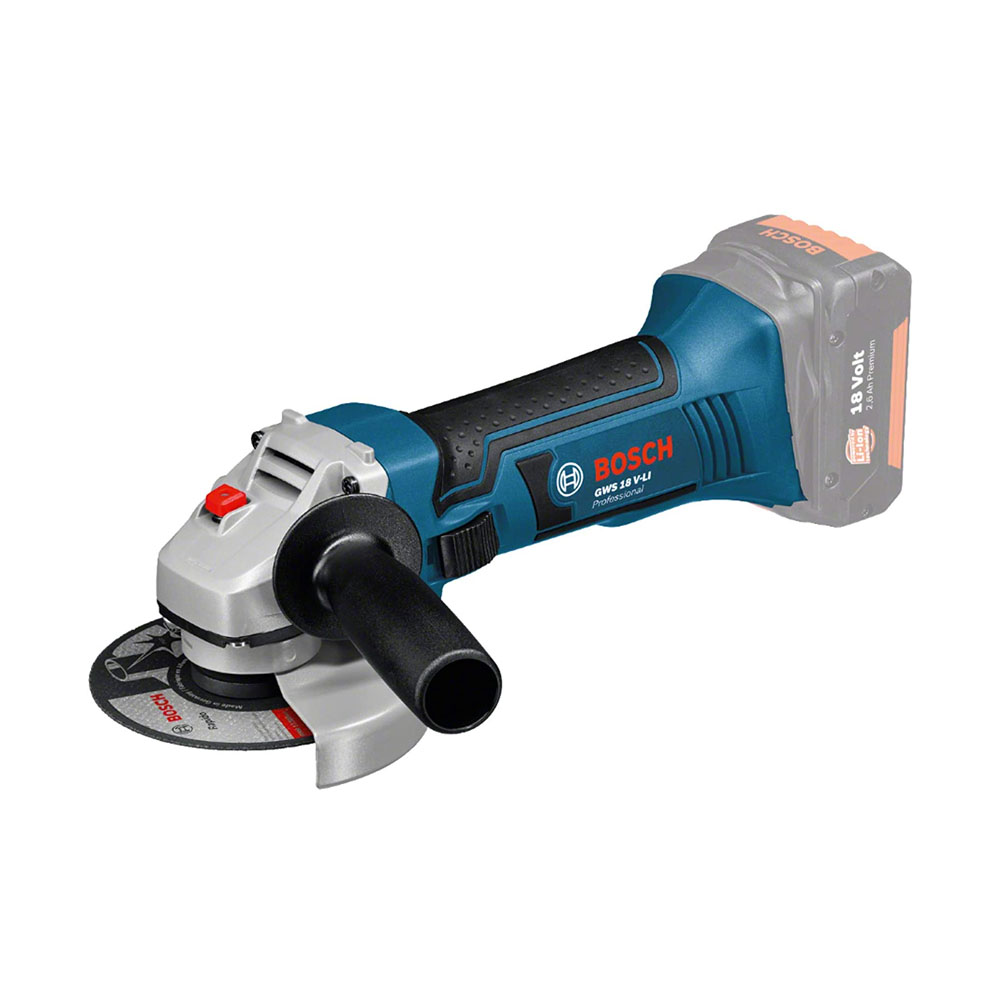 toptopdeal Bosch Professional GWS 18 V-LI Cordless Angle Grinder (without Battery and Charger)