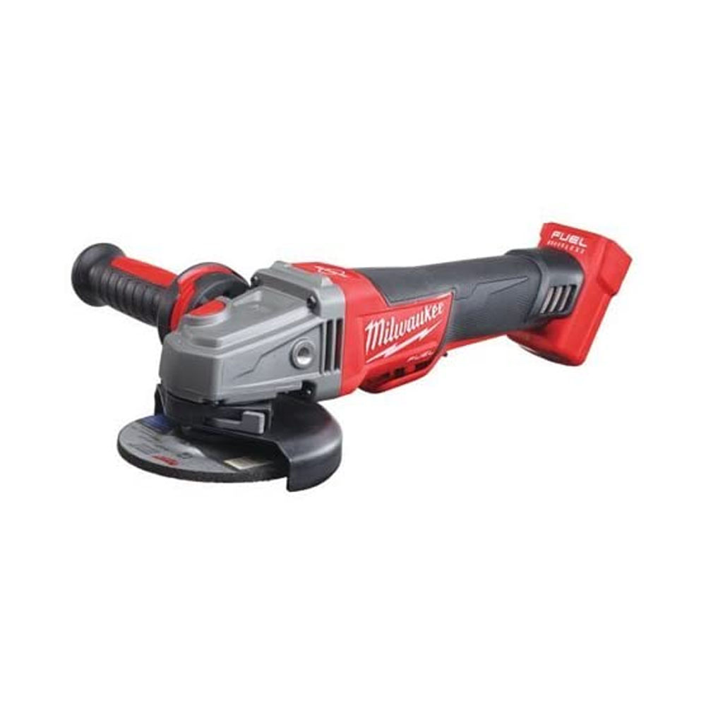 toptopdeal Milwaukee M18CAG115XPDB-0 M18 Fuel Breaking Grinder Paddle Switch (Naked-no Batteries or Charger)- 18 W- Multi-Colour- Bare Unit