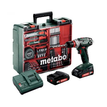 Toptopdeal-Metabo BS 18 Quick Set - cordless combi drills (Lithium-Ion (Li-Ion) Multi)