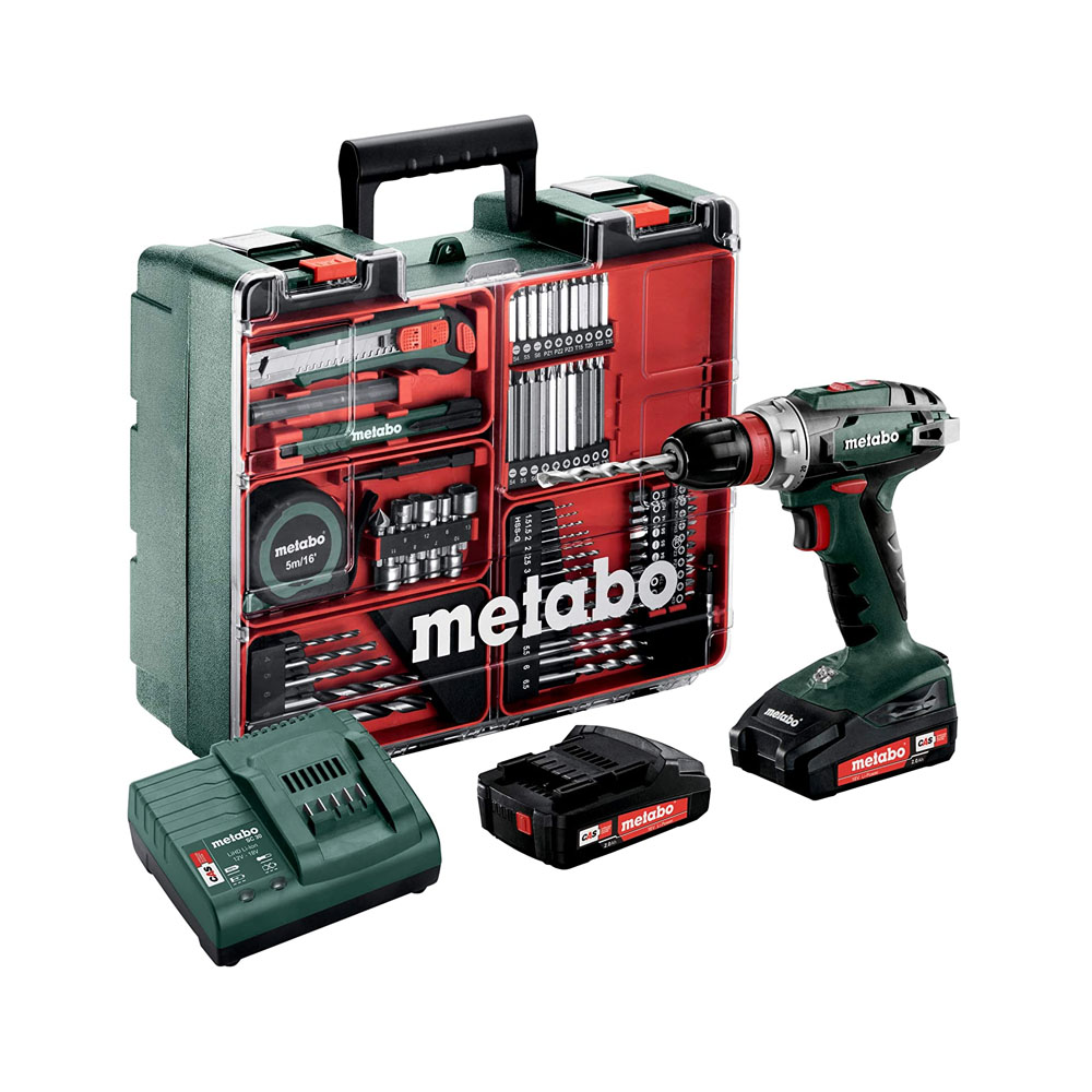 Toptopdeal-Metabo BS 18 Quick Set – cordless combi drills (Lithium-Ion (Li-Ion) Multi)