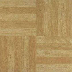 toptopdeal 44 x Vinyl Floor Tiles - Self Adhesive - Kitchen-Bathroom- Sticky Square Wood Effect (2573)