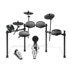 toptopdeal Alesis Drums Nitro Mesh Kit - Eight Piece Mesh Electric Drum Set With 385 Electronic