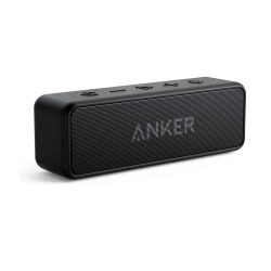 toptopdeal Anker Soundcore 2 Portable Bluetooth Speaker with 12W Stereo Sound, Bluetooth 5, BassUp, IPX7 Waterproof