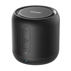 toptopdeal Anker Soundcore mini, Super-Portable Bluetooth Speaker with 15-Hour Playtime, 66-Foot Bluetooth Range, Enhanced Bass, Noise-Cancelling Microphone