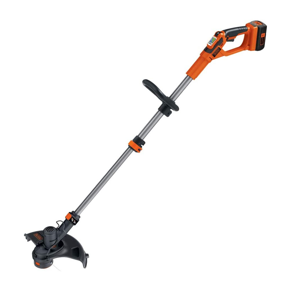 toptopdeal BLACK+DECKER 36 V Lithium-Ion Strimmer with 2