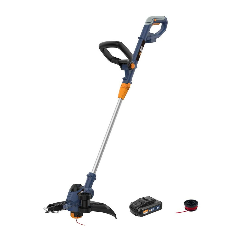 toptopdeal BLUE RIDGE 18V Cordless Grass Trimmer BR8151 with 25cm Cutting Width-2