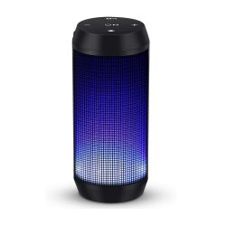 toptopdeal Bluetooth Speaker 4 Colors LED Lights Rich Bass HD Wireless Stereo