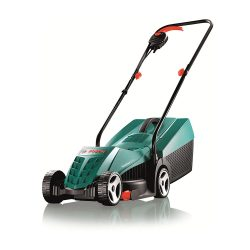 toptopdeal Bosch Rotak 32R Electric Rotary Lawnmower with 32 cm Cutting Width