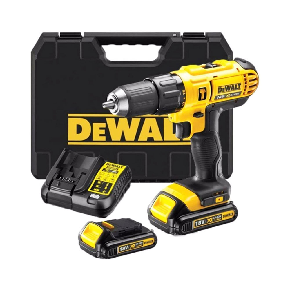 toptopdeal- DEWALT 18V Combi Drill X2 Upgraded 1 5AH Batteries Fast Charger Latest T STAK CASE Complete KIT