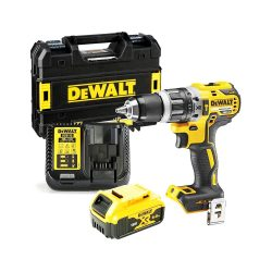toptopdeal-Dewalt DCD796P1 18v XR Brushless Combi Drill with 1 x 5Ah Battery Charger & Case