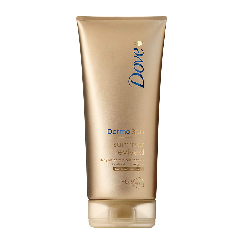 toptopdeal Dove DermaSpa Summer Revived Fair to Medium Self Tanning Body Lotion 200 ml