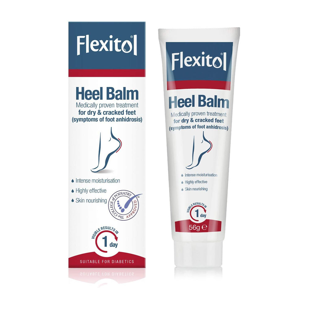 toptopdeal FLEXITOL Heel Balm Medically Proven Treatment for Dry and Cracked Feet - 56g -Gives Intense Moisturisation