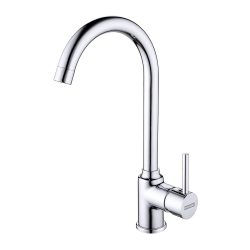 toptopdeal FRANKE Chrome High Pressure Kitchen tap with Fixed spout Made Pola 115.0298