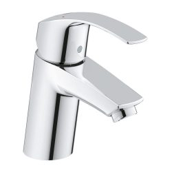 toptopdeal GROHE 3246720L Eurosmart Basin Tap with Smooth Tap Body, Universal Pressure (Suits High or Low Pressure Installations)