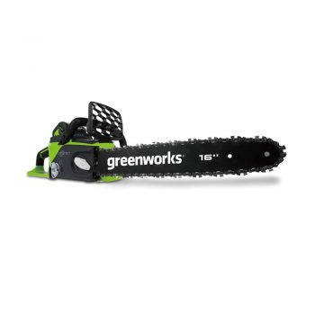 toptopdeal Greenworks Cordless Chainsaw GD40CS40 (Li-Ion 40 V 11 m-s Chain Speed 40 cm Sword Length 180 ml Oil Tank Volume Powerful Brushless Motor Without Battery and