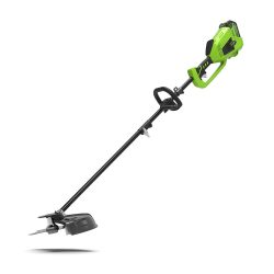 toptopdeal Greenworks Cordless Grass Trimmer and Scythe 2-in-1 GD40BC (Li-Ion 40 V 40 cm-25 cm Cutting Width 2 mm Thread-Knife 5300 RPM Adjustable Handle Powerful